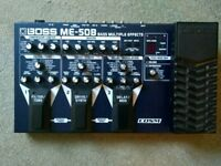Boss Bass ME-50B multi effects pedal