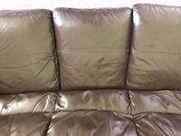 Three seaters sofa. There is few marks.