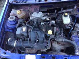 Ford Fiesta Xr2i 1.6 cvh engine and gearbox