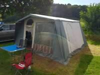 Large canvas tent