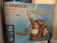 Kenwood Bagless Vacuum Cleaner 166 W