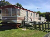 Caravan for hire in Hemsby near Great Yarmouth
