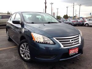 2015 Nissan Sentra 1.8 S, A/C, Cruise, 12V, AUX, Save $$$