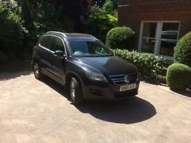 Excellent high-mileage Top spec Tiguan with full service history