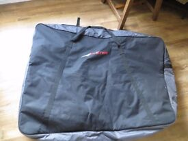 Soft padded bike bag