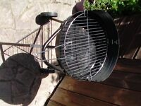 Charcoal BBQ Only used once Ideal for a couple or as a 2nd when required