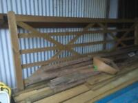 Farm gate 12ft