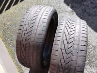 """Two 215/50/17"""" Goodyear Tyres"""