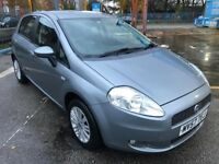 Superb Condition One Owner 2007 Grande Punto AUTOMATIC 1.4 Eleganza 5 Dr Hatch Set 18 MOT HPI Clear