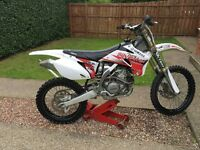 Yzf 250 Motor cross motor bike 2007/2008 model & Trailer