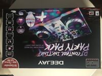 BN&S HERCULES DJ Control Instinct Party Pack - Audio+LED Party light Great Birthday Present for kids
