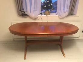 Extending Dining Table In Very Good Condition