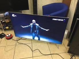 "Samsung SUHD 4K 55"" smart LED TV wi-fi Warranty Free Delivery"