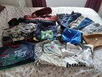 Big bundle of boys clothes 7-8 years