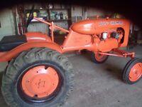 Allis Chalmers Model B Tractor 1950