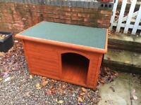 Outdoor dog kennel - 1 metre length