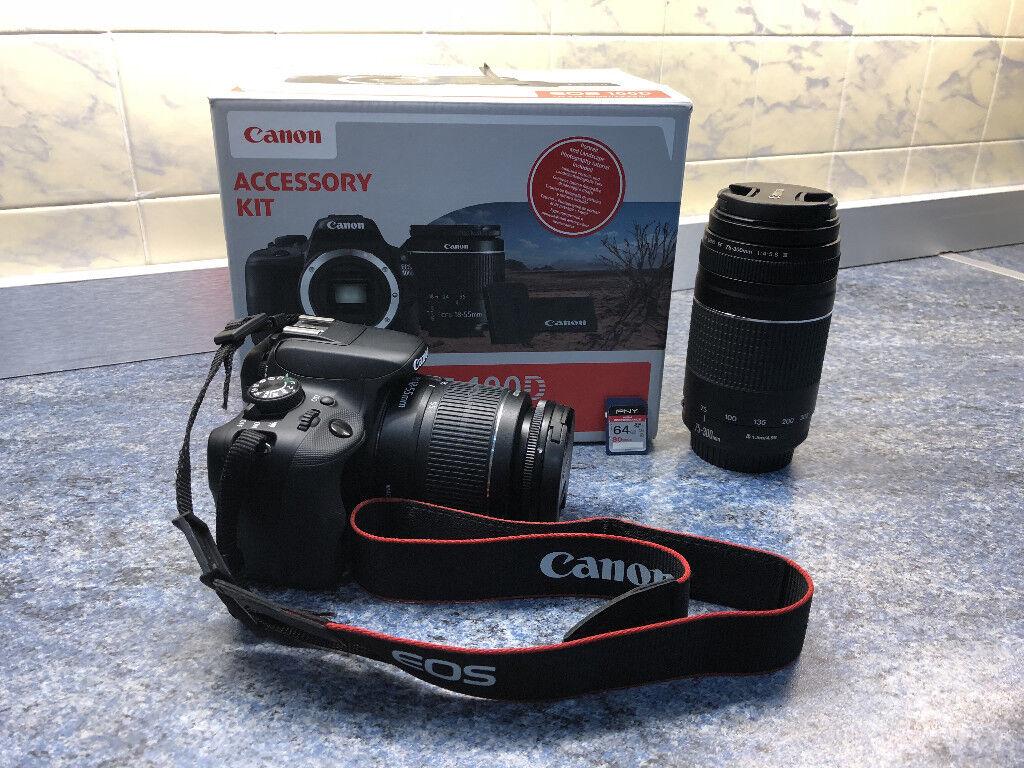 Canon EOS 100d DSLR Digital Camera + 2 lenses + 64Gb SD Card | in Newport |  Gumtree