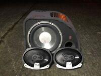 Fly sub and 6x9 speakers