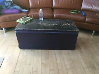 Antique blanket box 1857