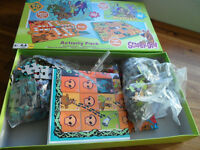 Scobby Doo Box Of Board Games and Jigsaws Complete