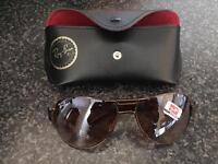 Ray ban sunglasses with box £15 only 1 left Collection Stafford or mile end Starbucks