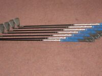 MENS PING G25 IRONS - 7 IRONS - GRAPHITE - SOFT REG. EXCELLENT CONDITION.
