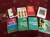 Primary/ early years teaching text books.