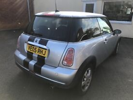 Clean mini one , Very Low mileage , lady owner,