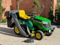 """John Deere X165 Ride on mower - 48"""" deck - lawnmower - Honda / Kubota / toro"""