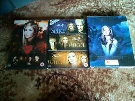 Buffy DVDs