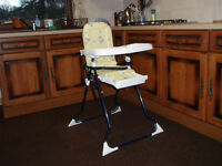 Infants high chair, folding,