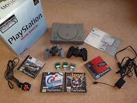 Sony Playstation Dualshock & Games