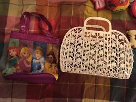 Girls handbags 50p each