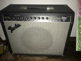 1994 Vintage Fender Amp Deluxe 112 Plus - Made in USA