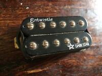 Entwistle Dark Star Humbucker Bridge pickup