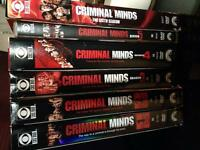 Criminal Minds DVDs Season 1 - 6