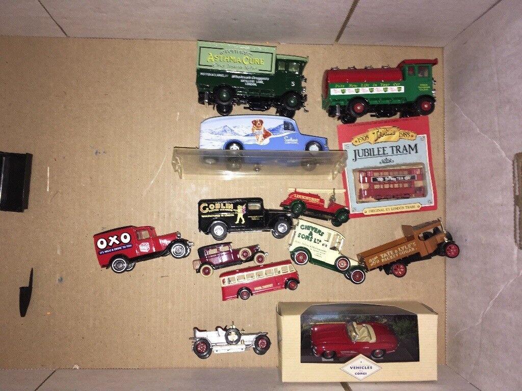 Corgi matchbox dinky etc collection