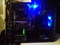 4.7 GHz 8-Core -20GB OF RAM - WATER COOLED - MSI 4GB GRAPICHS OCTO CORE - GAMING PC - AMD FX-9590