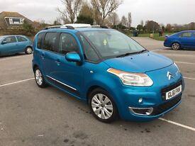 Citroen c3 picasso exclusive 2012 low mileage under warranty