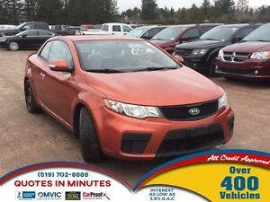 2010 Kia Forte Koup EX | SPORTY | HEATED SEATS