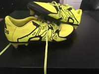Bale studded football boots Adidas size 4