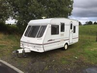 Swift danetee classic 5 berth 16/17ft 2000 modell full awning in good condition for year