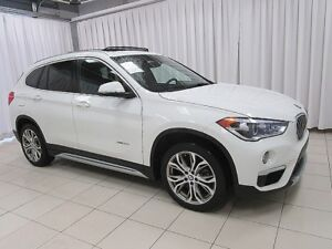 2018 BMW X1 28i x-DRIVE SUV w/ PANORAMIC ROOF, HEATED SEATS &