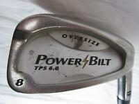 8 Iron Golf Club Power Bilt Oversize Tps 6.0