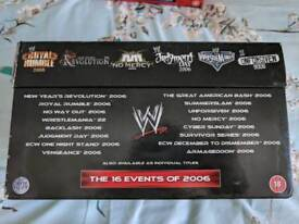 WWF WWE 2006 Complete Event PPV DVD Collection BOXSET || Very Rare
