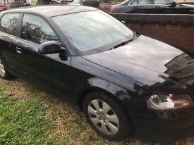 Audi A3 black mint condition