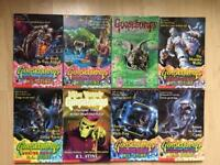 Goosebumps series 2000 books x8