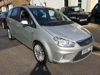 FORD C-MAX 2.0 AUTOMATIC TITANIUM 2008 FACELIFT 2 KEYS,FULL HISTORY,CLEAN CAR HPI CLEAR,DVD PLAYER