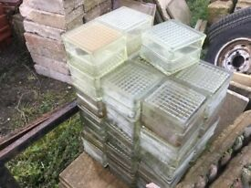 Glass Blocks Ideal For showers Building Projects Etc