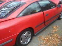 vauxhall calibra c20xe project